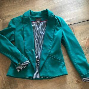Jackets & Blazers - Teal blazer